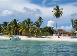 Guesthouse on the paradisiacal Saona Island